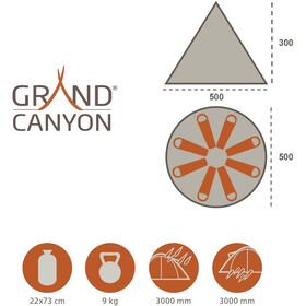 Grand Canyon Tepee Tente, beige